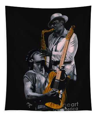 Bruce And Clarence Tapestry