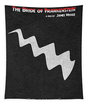 The Bride Of Frankenstein Tapestry