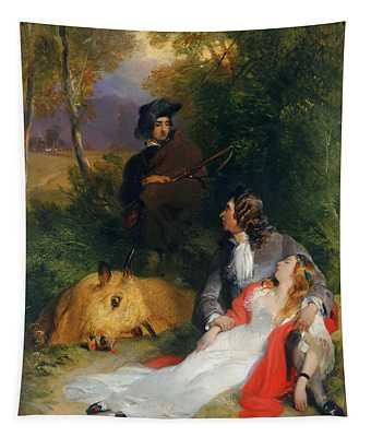 The Bride Of Lammermoor Tapestry