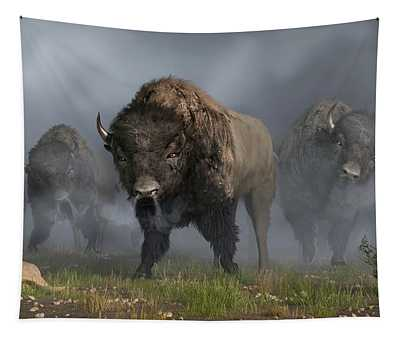 The Buffalo Vanguard Tapestry
