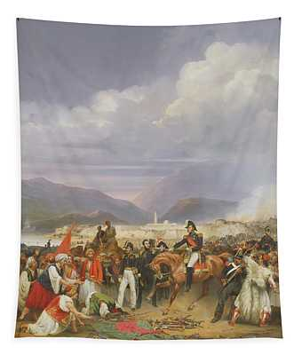 The Capture Of Morea Castle, 30th October 1828, 1836 Oil On Canvas Tapestry