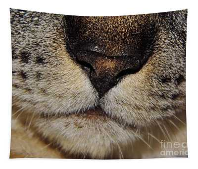 The - Cat - Nose Tapestry