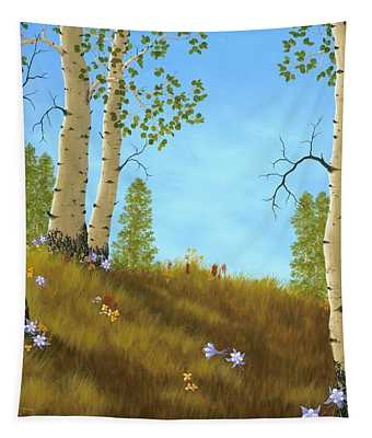 The Colors Of Nature Tapestry