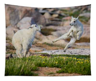The Dance Of Joy Tapestry