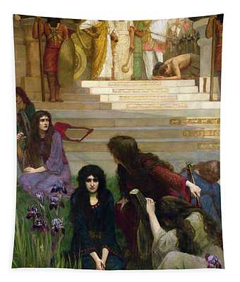 The Daughters Of Judah In Babylon Tapestry