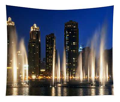 The Dubai Fountains Tapestry