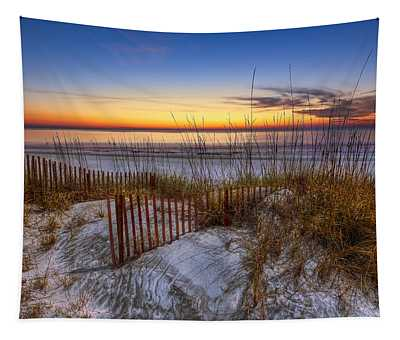 The Dunes At Sunset Tapestry