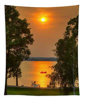 The End Of A Perfect Day Tapestry