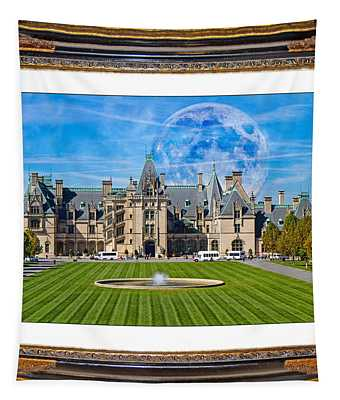 The Evening Begins At Biltmore Tapestry