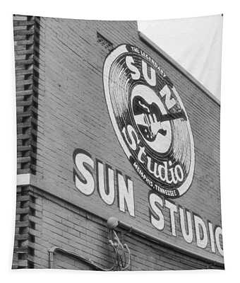 The Famous Sun Studio In Memphis Tennessee Tapestry