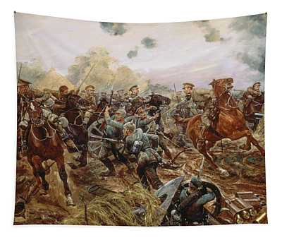The First Vc Of The European War, 1914 Tapestry