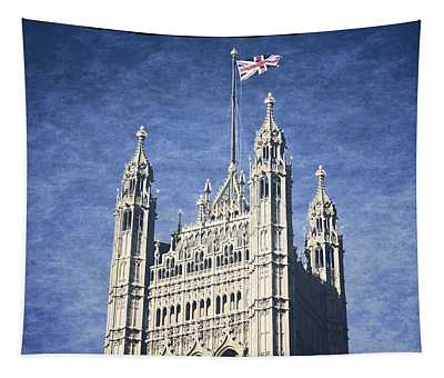 The Flag Flies Tapestry