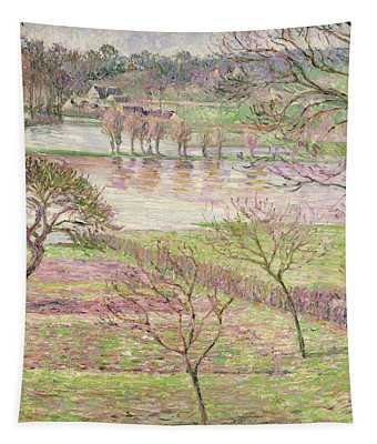 The Flood At Eragny Tapestry
