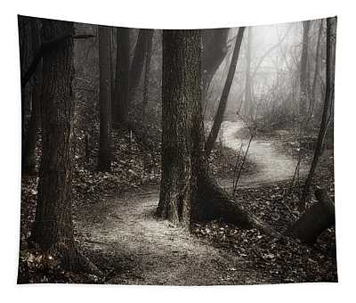 The Foggy Path Tapestry