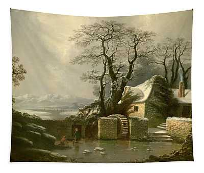 The Frozen Mill Race Tapestry
