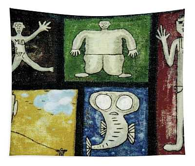 The Gang Of Five Tapestry