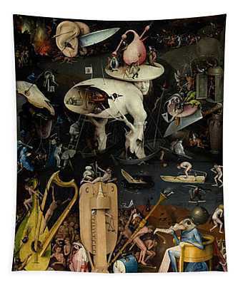 The Garden Of Earthly Delights. Right Panel Tapestry