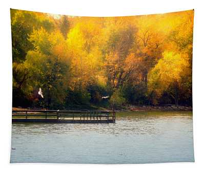 The Golden Hour Tapestry