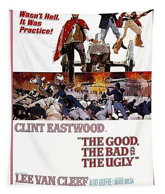 The Good The Bad And The Ugly  Tapestry