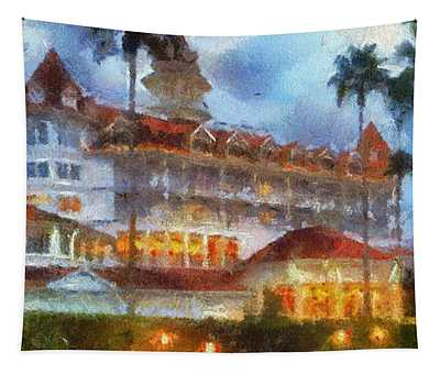 The Grand Floridian Resort Wdw 01 Photo Art Tapestry