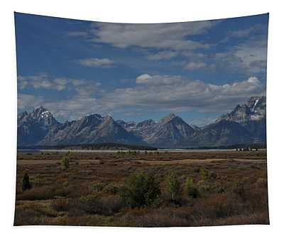The Grand Tetons Tapestry