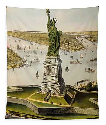 The Great Bartholdi Statue Tapestry