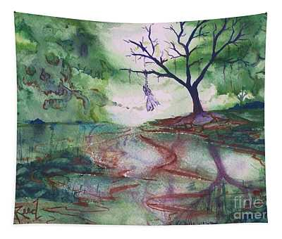 The Hanging Tree  Tapestry