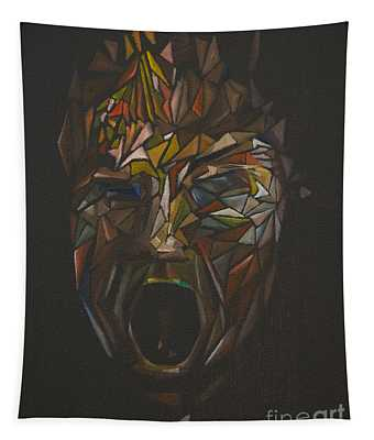 The Head Of Goliath - After Caravaggio Tapestry