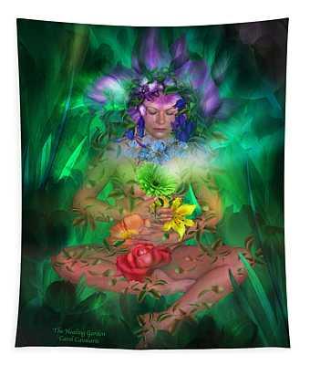 The Healing Garden Tapestry