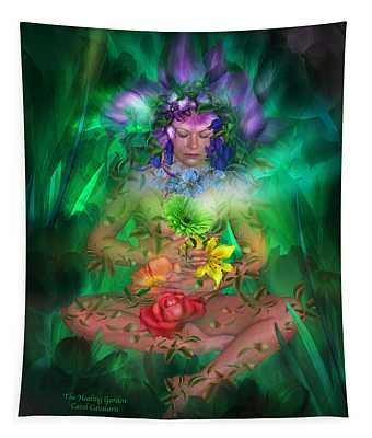 The Healing Garden Tapestry