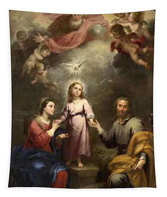 The Heavenly And Earthly Trinities Tapestry