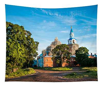 The Holy Place. Valaam. Northern Russia Tapestry