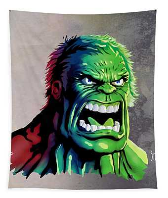 The Hulk Tapestry