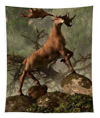 The Irish Elk Tapestry