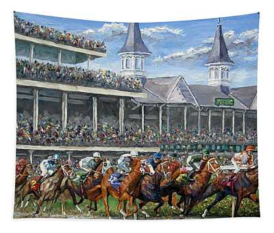 The Kentucky Derby - Churchill Downs Tapestry