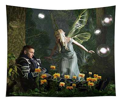 The Knight And The Faerie Tapestry