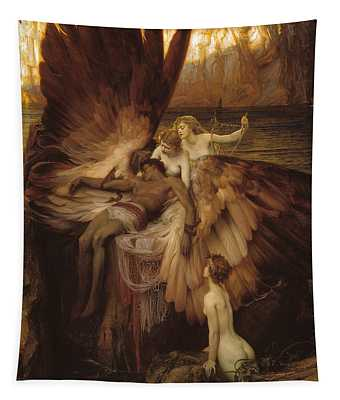 The Lament For Icarus Tapestry