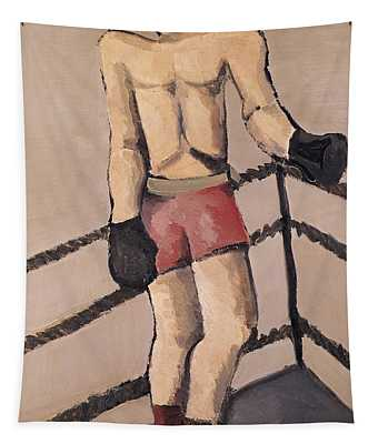 The Large Boxer Tapestry