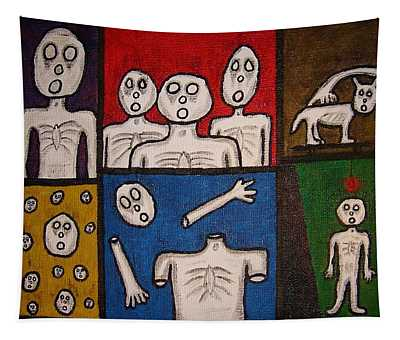 The Last Hollow Men Tapestry