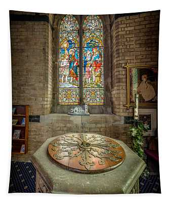 The Limestone Font  Tapestry