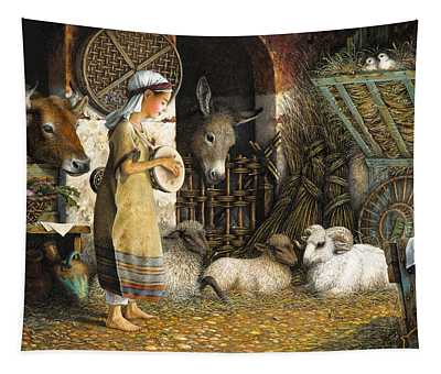 The Little Drummer Boy Tapestry