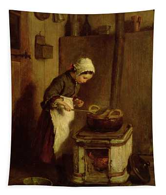 The Little Housekeeper Tapestry