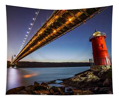 The Little Red Lighthouse Tapestry