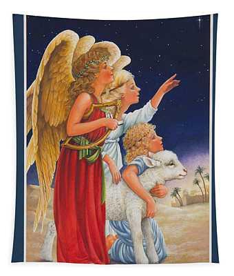 The Little Shepherd Boy Tapestry