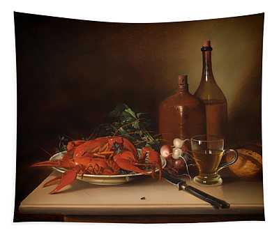 The Lobster Meal Tapestry