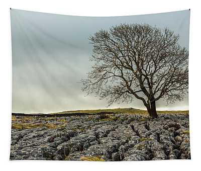 The Lonely Tree Tapestry