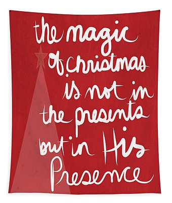 The Magic Of Christmas- Greeting Card Tapestry