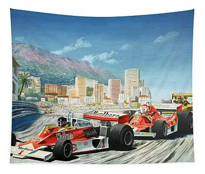 The Monaco Grand Prix Tapestry