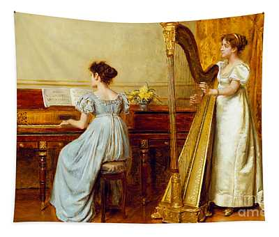 The Music Room Tapestry