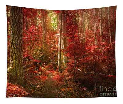 The Mystic Forest Tapestry